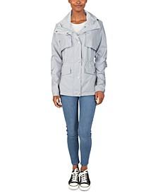 Packable Hooded Anorak Raincoat