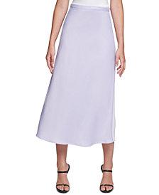 Calvin Klein A-Line Midi Skirt