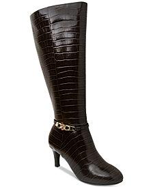 Karen Scott Hanna Dress Boots, Created for Macy's