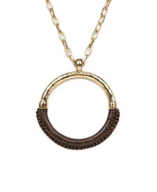 Carmelina Leather Necklace