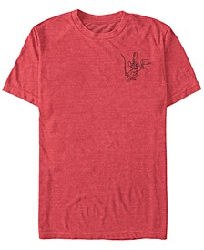 Men's Timothy Mouse Line Short Sleeve T-Shirt