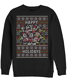 Men's Mickey Six Sweater Long Sleeve T-Shirt