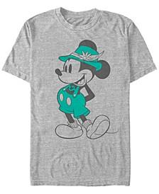 Men's Lederhosen Vintage Short Sleeve T-Shirt