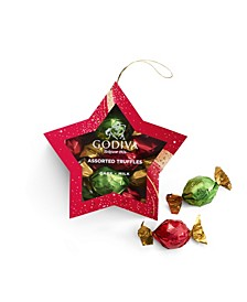 Ornament Star Chocolate Gift Box, 10 Piece Set