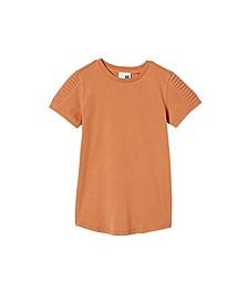 Toddler Boys Cruz Short Sleeve Long Line Tee