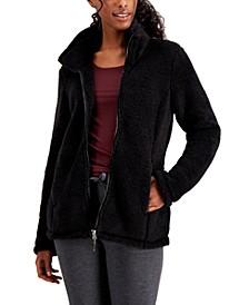 Fleece Stand-Collar Jacket