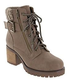 Women's Beckham Lace- Up Boots