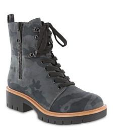 Women's River Lace-Up Lug Sole Boots