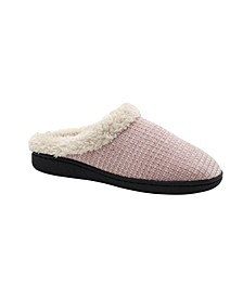 Women's Cozy Chenille Knit Slip On Comfy House Slippers