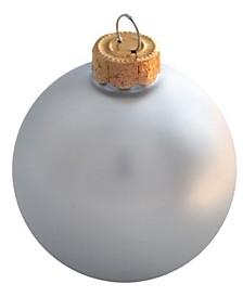 Matte Christmas Ornaments, Box of 40