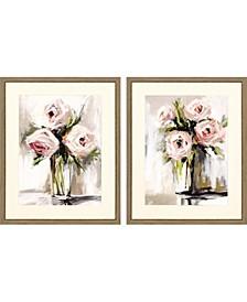 """Spring Bouquet Pack 2 Framed Wall Art, 32"""" x 26"""""""
