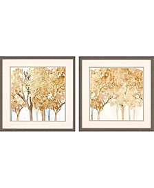 "Walk Along Pack 2 Framed Wall Art, 26"" x 26"""
