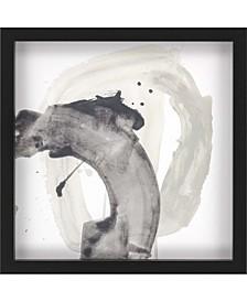 "Swath VI Framed Wall Art, 27"" x 27"""