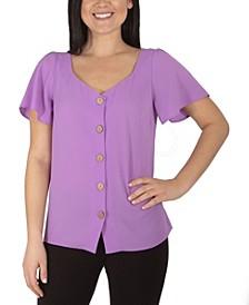 Women's Plus Size Short Sleeve Top