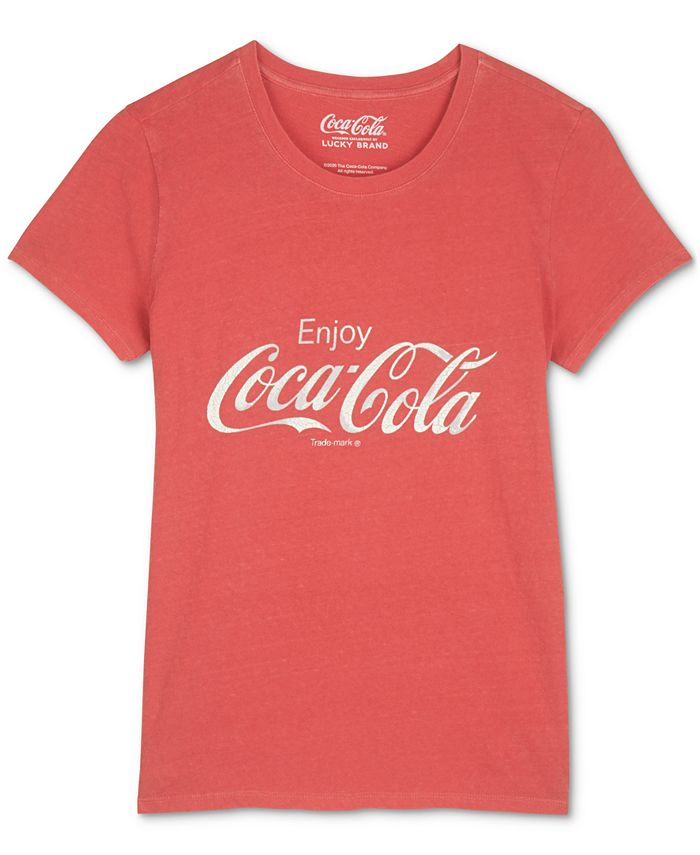 Lucky Brand - Cotton Coca-Cola Logo T-Shirt