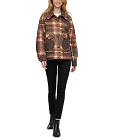 Plaid Shirt-Jacket Coat