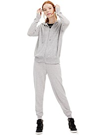 Cashmere Hoodie & Jogger Pants, Created for Macy's