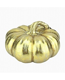 Martha Stewart Harvest Large Gold Pumpkin, Created for Macy's