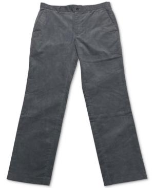 Alfani Men's Flat-Front Corduroy Pants, Created for Macy's