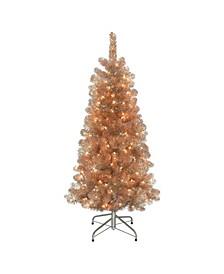 "4.5"" Pre-Lit Artificial Christmas Tree"