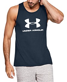 Men's Sport style Logo Tank T-Shirt