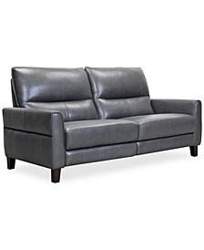 "Tyvon 80"" Leather Power Motion Sofa"