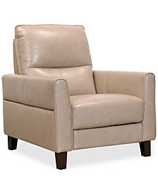 """Tyvon 35"""" Leather Power Motion Recliner"""