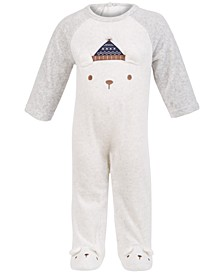 Baby Boys Bear Coverall, Created for Macy's