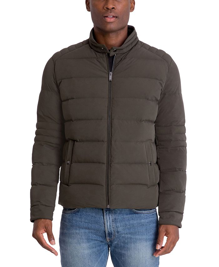 Michael Kors - Men's Hipster Stretch Puffer Jacket