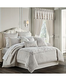 Angeline 4 Piece Queen Comforter Set