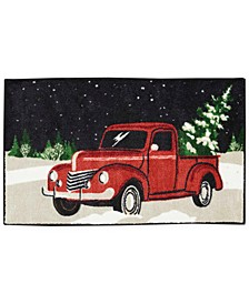 "Holiday Truck 18"" x 30"" Accent Rug"
