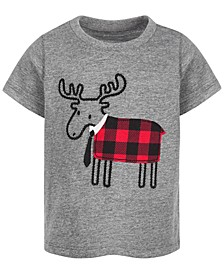 Baby Boys Reindeer T-Shirt, Created for Macy's