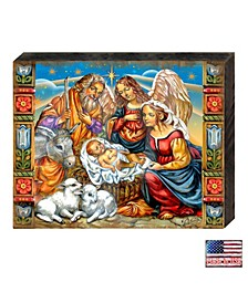 Hitchin Nativity by G. DeBrekht Handcrafted Wall and Home Decor