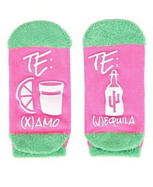 Te Amo Tequila Women's Low Cut Socks