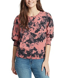 Meaghan Cotton Tie-Dyed Sweatshirt