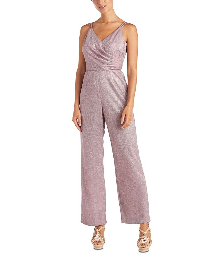 Nightway - Metallic Wrap Jumpsuit