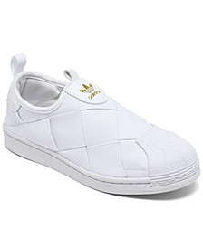 Women's Superstar Slip-on Casual Sneakers from Finish Line