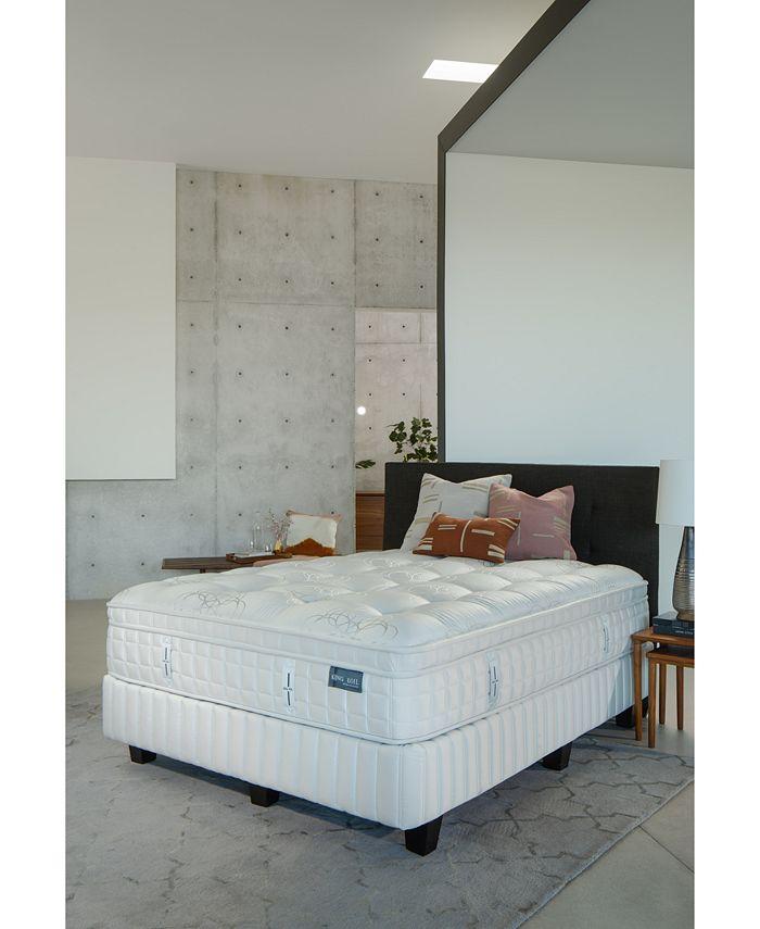"""King Koil - Marlow 14.5"""" Firm Euro Pillow Top Mattress Set- Queen"""