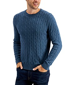 Men's Cable-Knit  Sweater, Created for Macy's