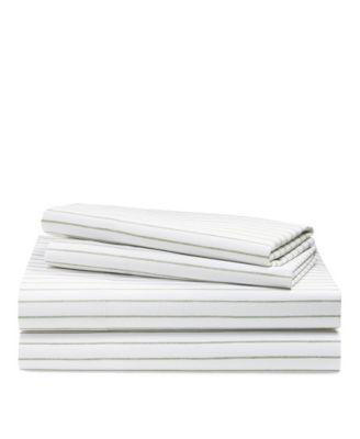 Spencer Striped California King Sheet Set