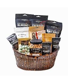 Jingle Gift Basket, 128 oz