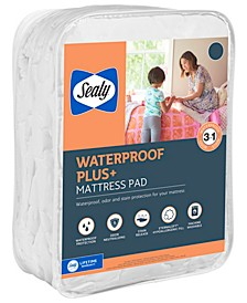Waterproof Plus+ Mattress Pad, Twin