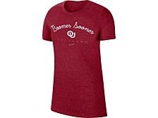 Oklahoma Sooners Women's Marled T-Shirt