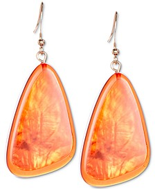 Colored Triangular Statement Earrings, Created for Macy's