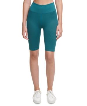 Calvin Klein Performance Bike Shorts In Juniper