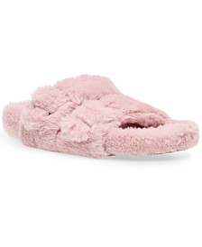 Women's Around Double-Band Footbed Slippers