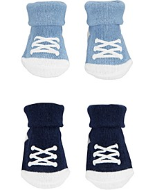 Baby Boy 2-Pack Sneaker Booties
