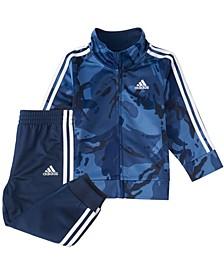 Baby Boys Zip Front Classic Camo Jacket & Jogger Set
