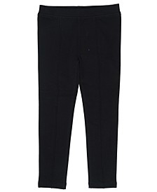 Solid French Terry Pull On Legging