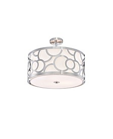 """Norlyn 20"""" 3-Light Indoor Chandelier with Light Kit"""